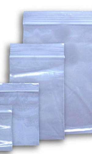 Embalagem com fecho zip
